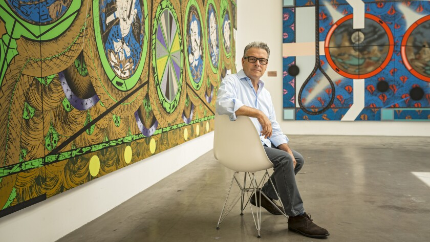 Los Angeles painter Lari Pittman is one of four new trustees at the Museum of Contemporary Art in downtown.