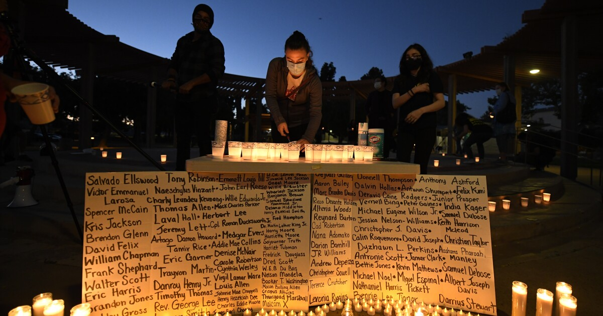 Candlelight vigil in Imperial Beach commemorates victims of police brutality