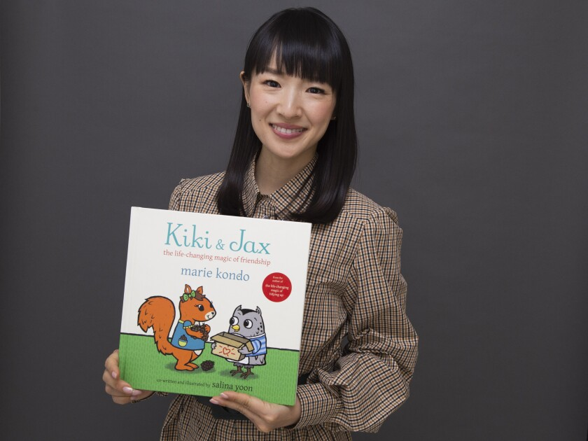 Marie Kondo Portrait Session