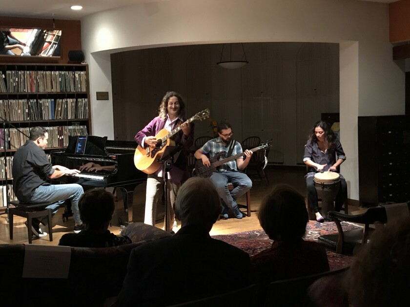 """The Athenaeum Music & Arts Library will present the """"Acoustic Evening Series with Jefferson Jay."""""""