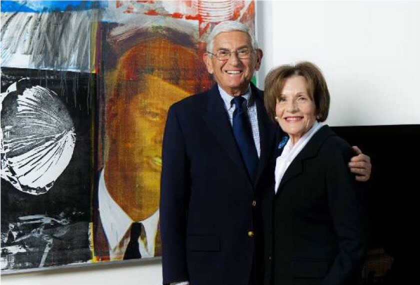 Eli Broad discusses his $7 million gift to Los Angeles Opera