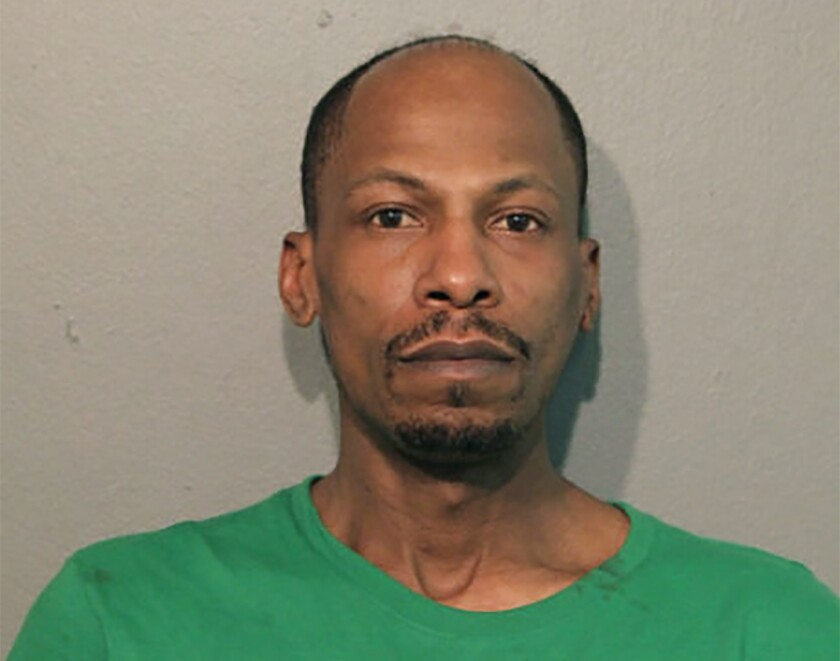 This April 2021 booking photo released by the Chicago Police Department shows Jushawn Brown. Police say Brown has been charged with unlawful use of a firearm by a felon in connection with a shooting Tuesday, April 6, 2021, that wounded a 21-month-old boy who was riding in a car with him on Chicago's famed Lake Shore Drive. (Chicago Police Department via AP)