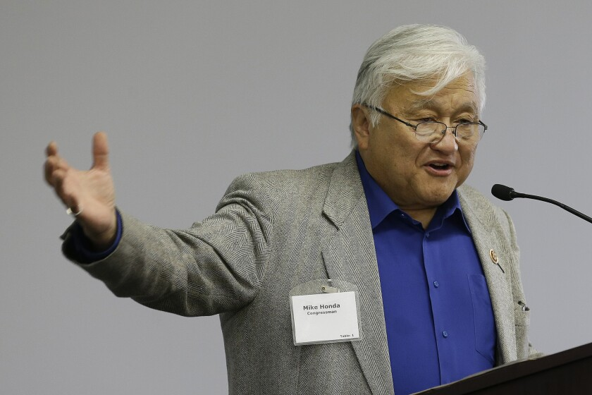 U.S. Rep. Mike Honda (D-San Jose) hasn't spent money on legal services related to a complaint the House Ethics Committee is still reviewing.