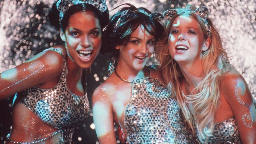 "Rosario Dawson, from left, Rachael Leigh Cook and Tara Reid in ""Josie and the Pussycats,"" one of rock 'n' roll's great unheralded movies."