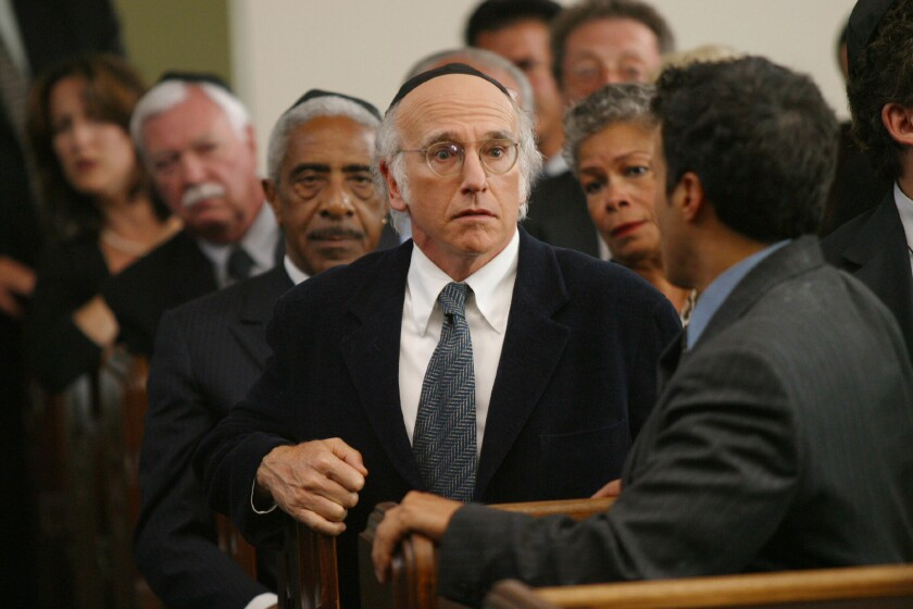 """Larry David in """"Curb Your Enthusiasm"""""""