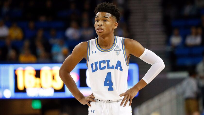 Freshman Jaylen Hands puts up a career high in points to lead UCLA past Detroit Mercy.