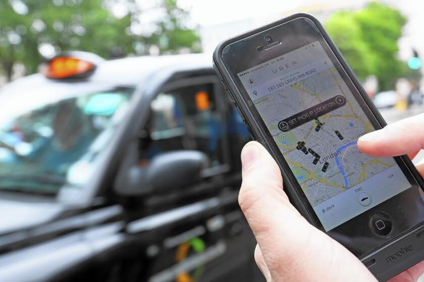 Uber customer
