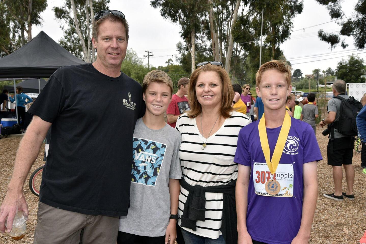 Dan and Susan Baldner with Brian and Justin