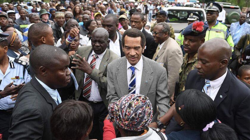 BOTSWANA-POLITICS