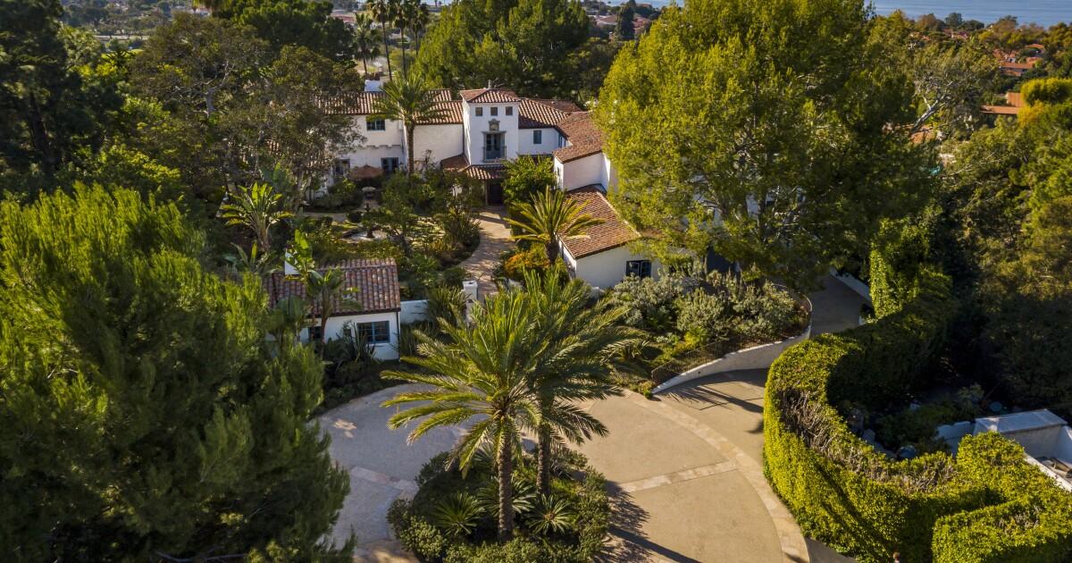 The Roessler Estate in Palos Verdes Estates