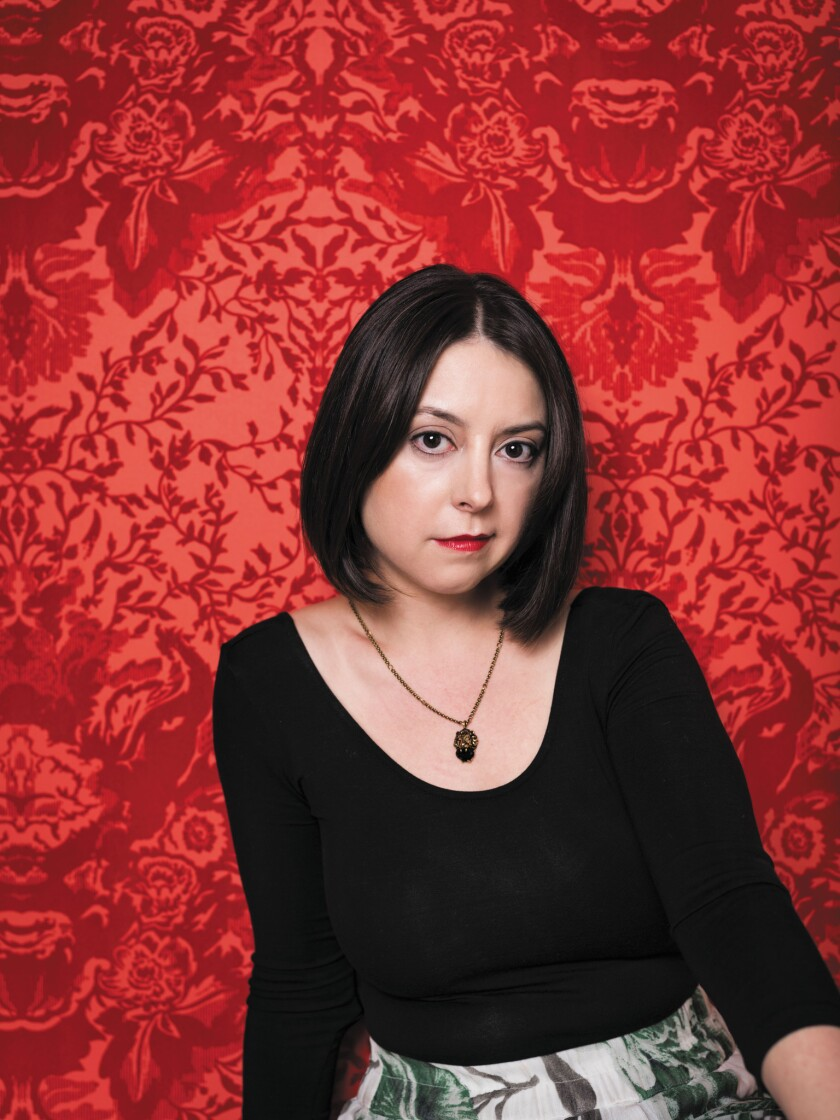 "An author photo of Karina Longworth for her book ""Seduction, Sex, Lies and Stardom In Howard Hughes'"