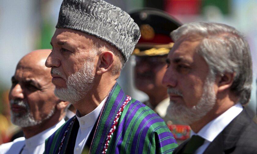Afghanistan leaders