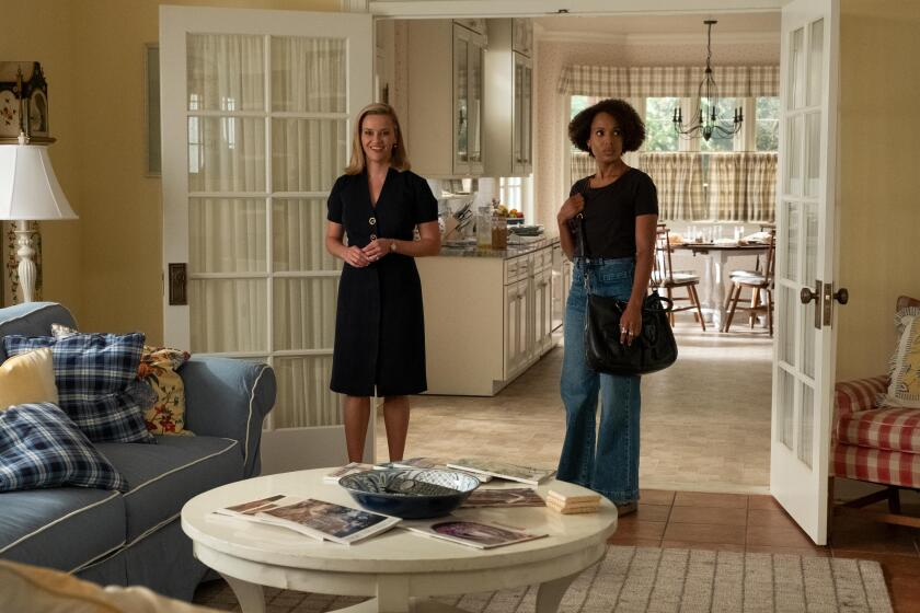"Reese Witherspoon and Kerry Washington in ""Little Fires Everywhere."""