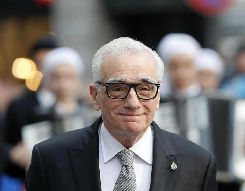 Fotografía del cineasta norteamericano Martin Scorsese. EFE/Archivo
