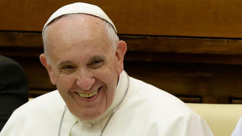 Pope Francis again has rejected the idea that the Catholic Church will ordain women as priests.