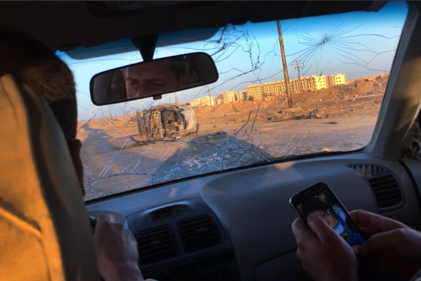 Doctors travel a dangerous road to help ease the horrors of war-torn Aleppo, Syria