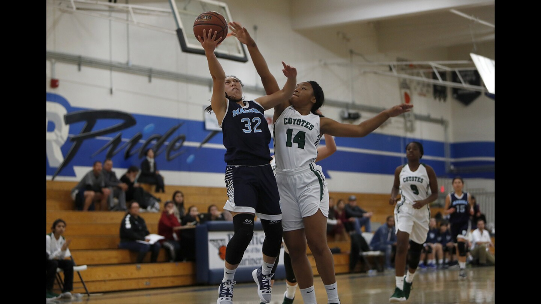 Photo Gallery: Marina vs. Buena Park in girls' basketball