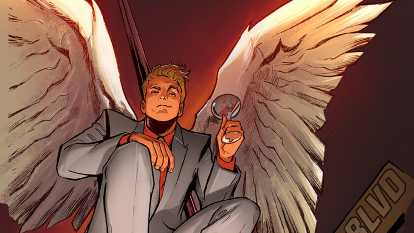 """""""Lucifer"""" is a new ongoing series slated for the fall from writer Holly Black and artist Lee Garbett."""