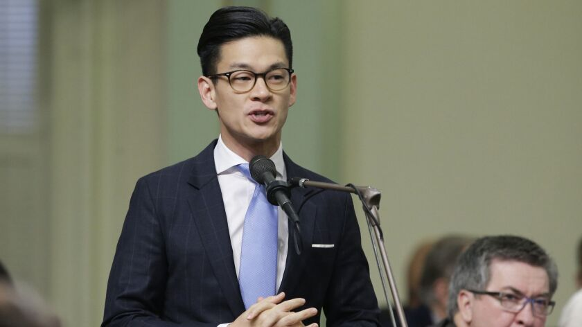 "Assemblyman Evan Low (D-Campbell) has halted his effort to designate paid ""conversion therapy"" as a fraudulent business practice under the state's consumer protection law."