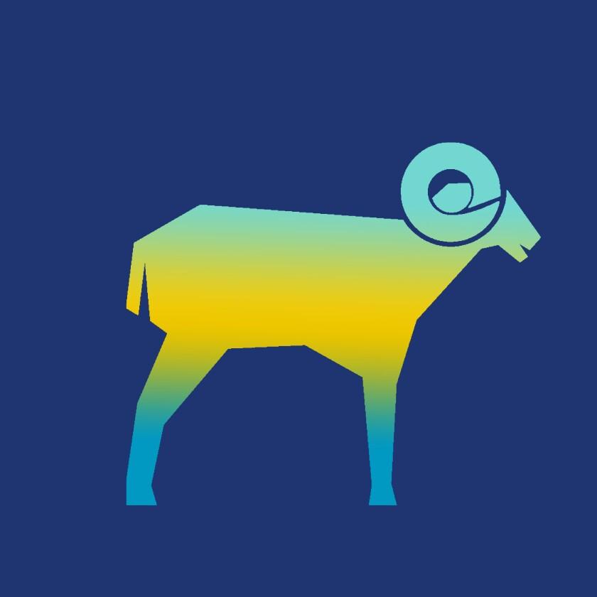 Illustration of a big horn sheep