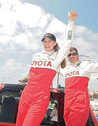 Scion tC Sports Coupe Pro/Celebrity Race