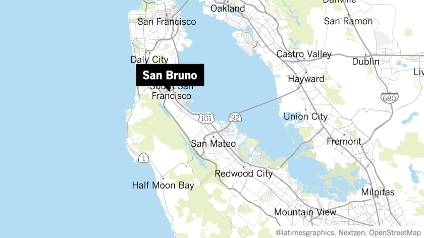 San Bruno site of arrest