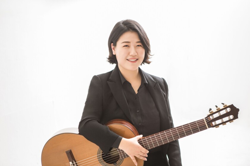 Bokyung Byun is one of three classical concert guitarists who will perform as part of the 2019 San Diego Guitar Festival, beginning this week.
