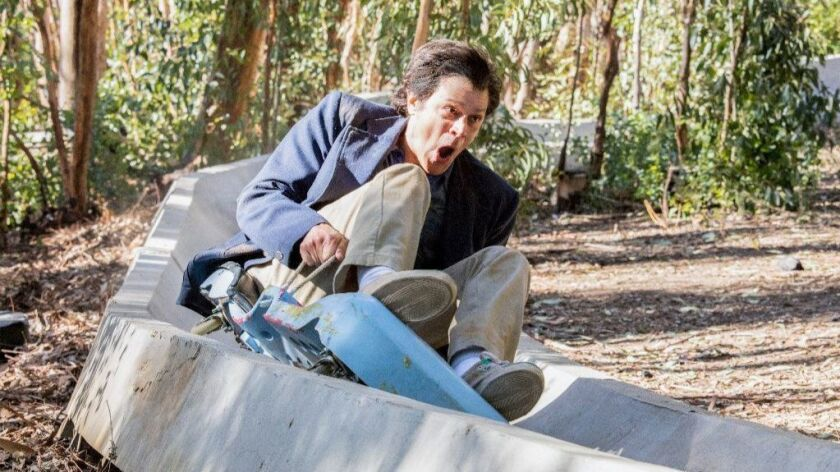 "Johnny Knoxville in the film ""Action Point"" from Paramount Pictures."