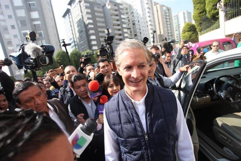 El gobernador del estado de México, Alfredo del Mazo. EFE/Sáshenka Gutiérrez/Archivo