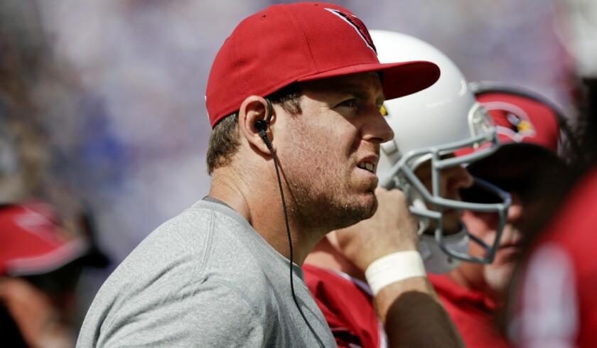 Retired quarterback Carson Palmer