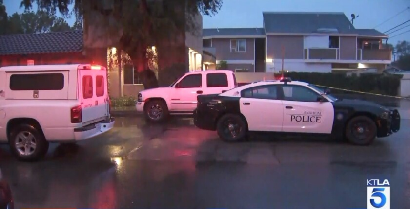 Anaheim police investigating fatal shooting of woman whose