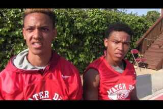 St. Brown brothers make impact at Mater Dei