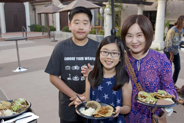 Jeremiah, Ellie, and Elise Cho