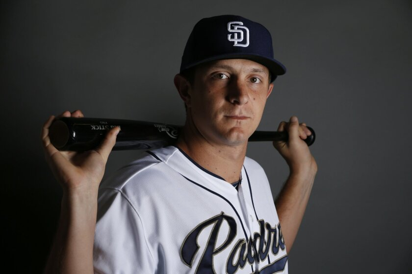 Padres outfielder/first baseman Alex Dickerson