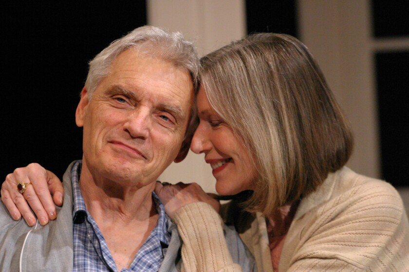 David Selby and Susan Sullivan in 'A Delicate Balance.'