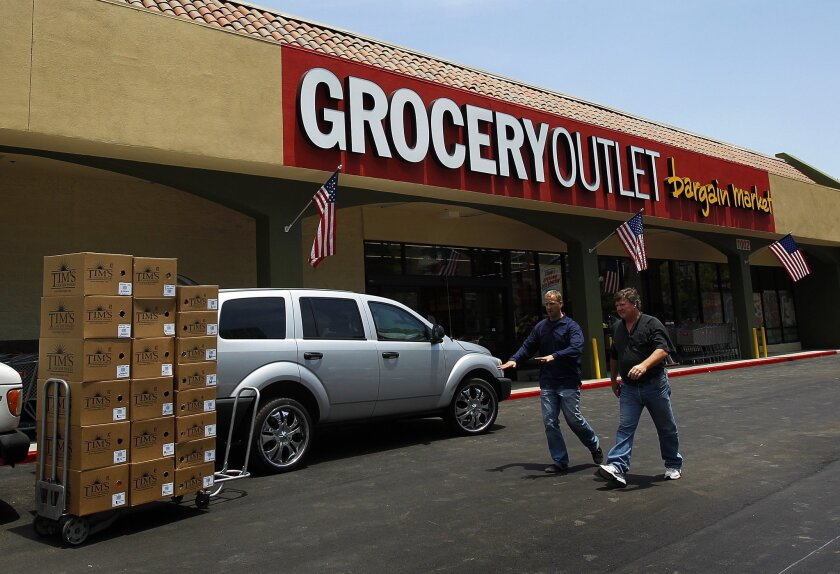 Grocery Outlet's third store in San Diego County opened in mid-July in East Village in a former Pep Boys building on Market Street in San Diego.