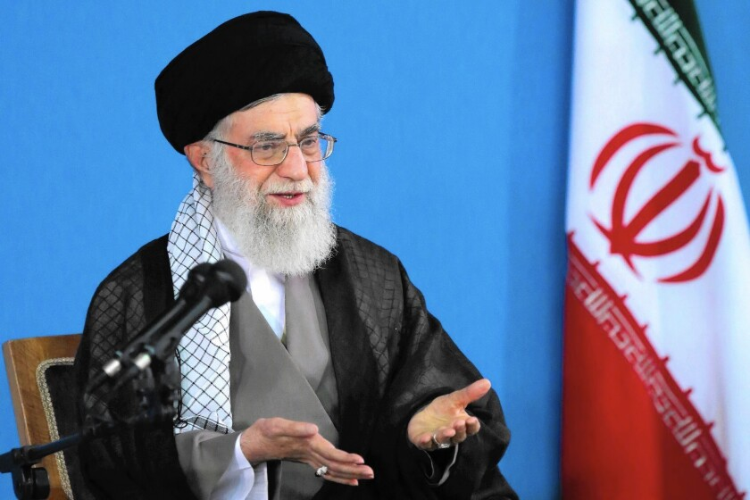 Ayatollah Ali Khamenei, Iran's supreme leader, has subtly distanced himself from the nuclear accord.
