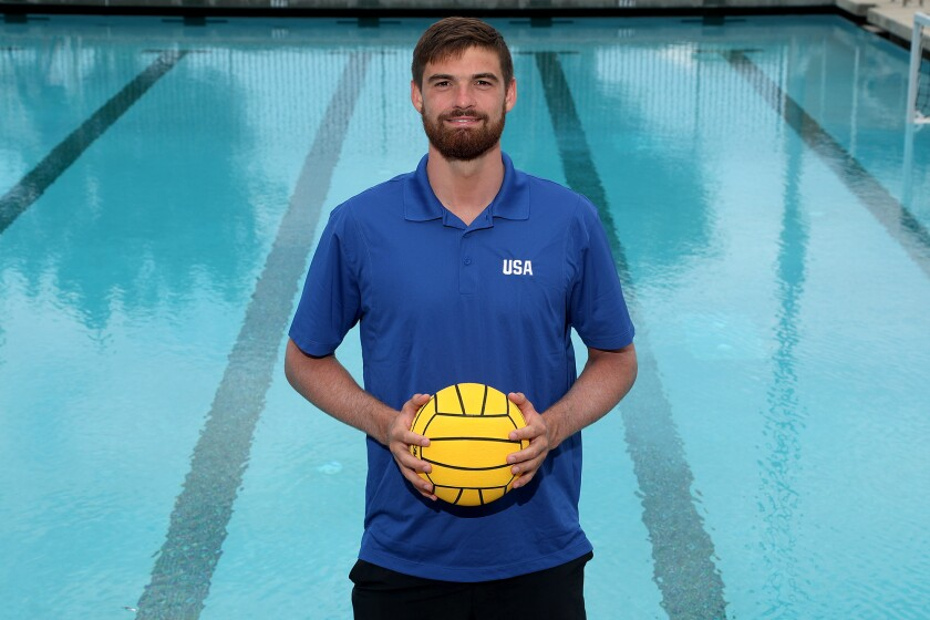 Alex Wolf, a goalkeeper for the U.S. Olympic men's water polo team, is a graduate of Huntington Beach High School.