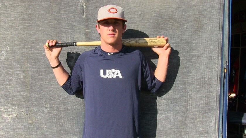 Outfielder Blake Rutherford of Chaminade should be a first-round draft pick in 2016.