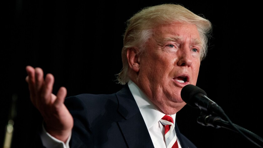 Donald Trump unveiled his tax- and regulation-cutting economic plan in a speech in Detroit on Monday.