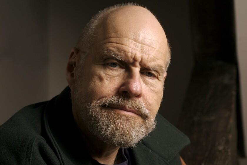 American crime novelist Lawrence Block.