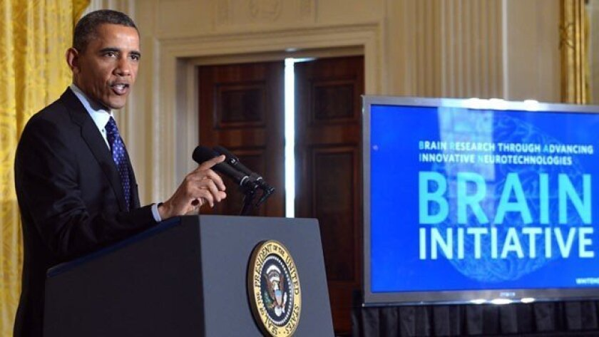 President Obama called the Brain Initiative 'tansformative'.