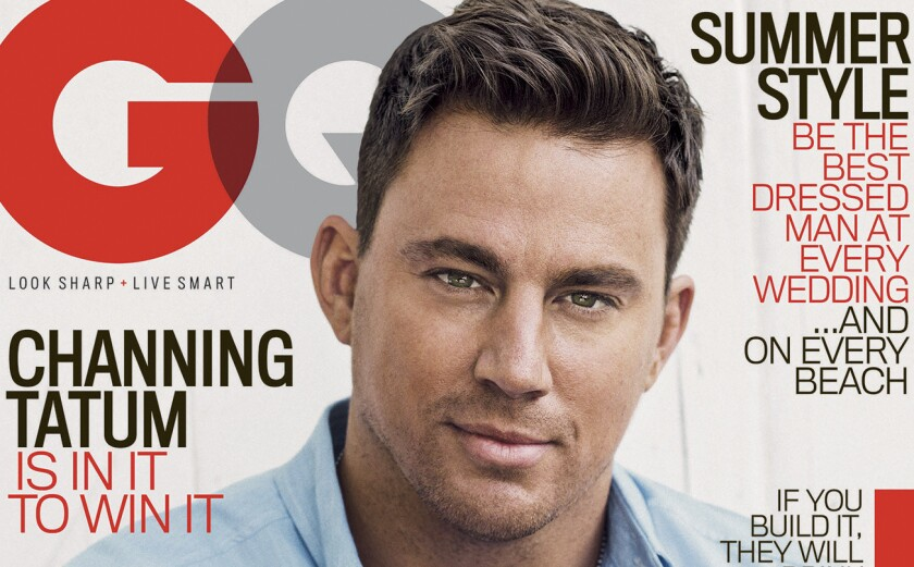 Channing Tatum on GQ