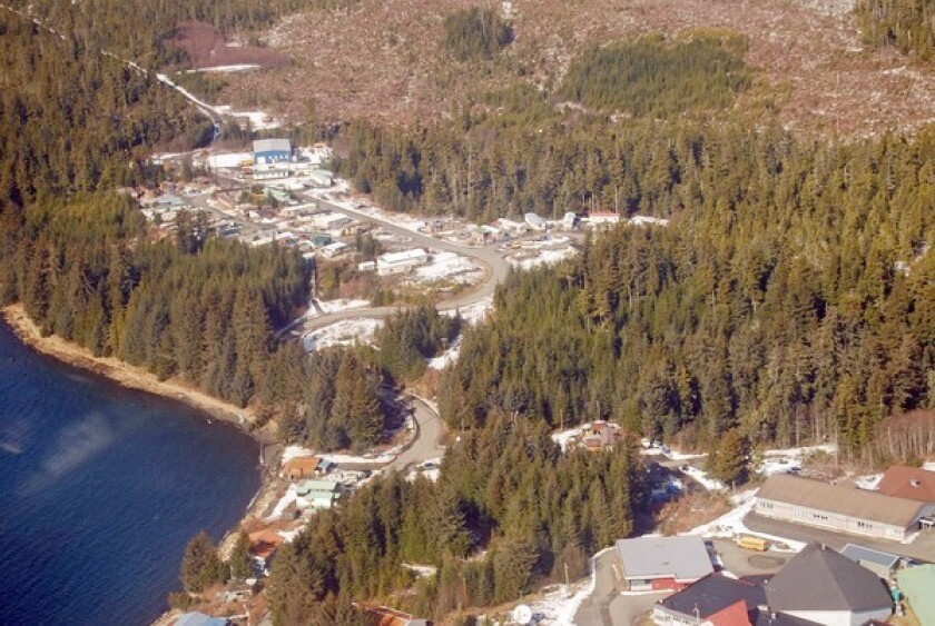Kake, Alaska, a former logging and fishing town on Kupreanof Island in southeast Alaska, has shrunk to about 500 residents. The town is hopeful that a new U.S. Forest Service approach to logging in the Tongass National Forest will provide jobs and wildlife protection.