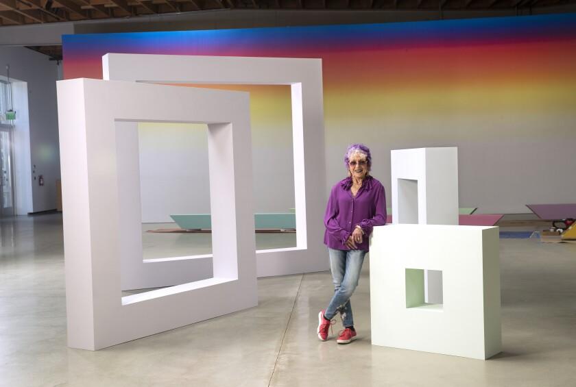 Judy Chicago at Deitch Gallery