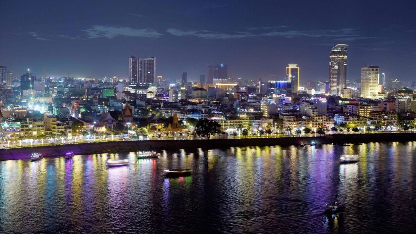 CAMBODIA-SKYLINE