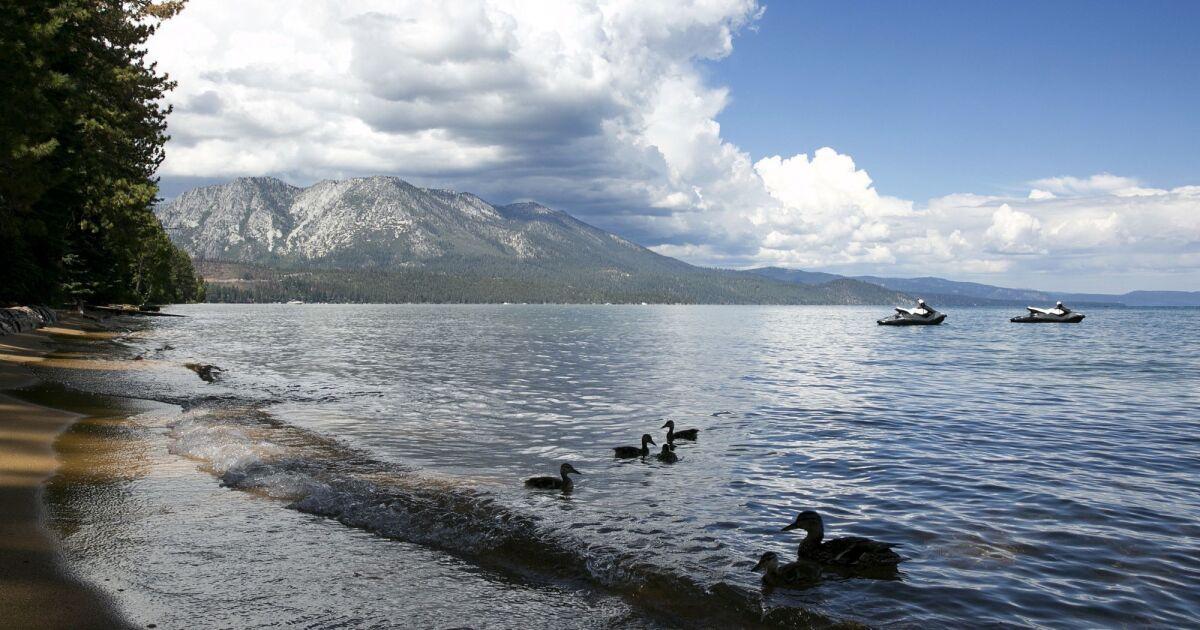 Coronavirus spikes at Lake Tahoe amid summer tourist season