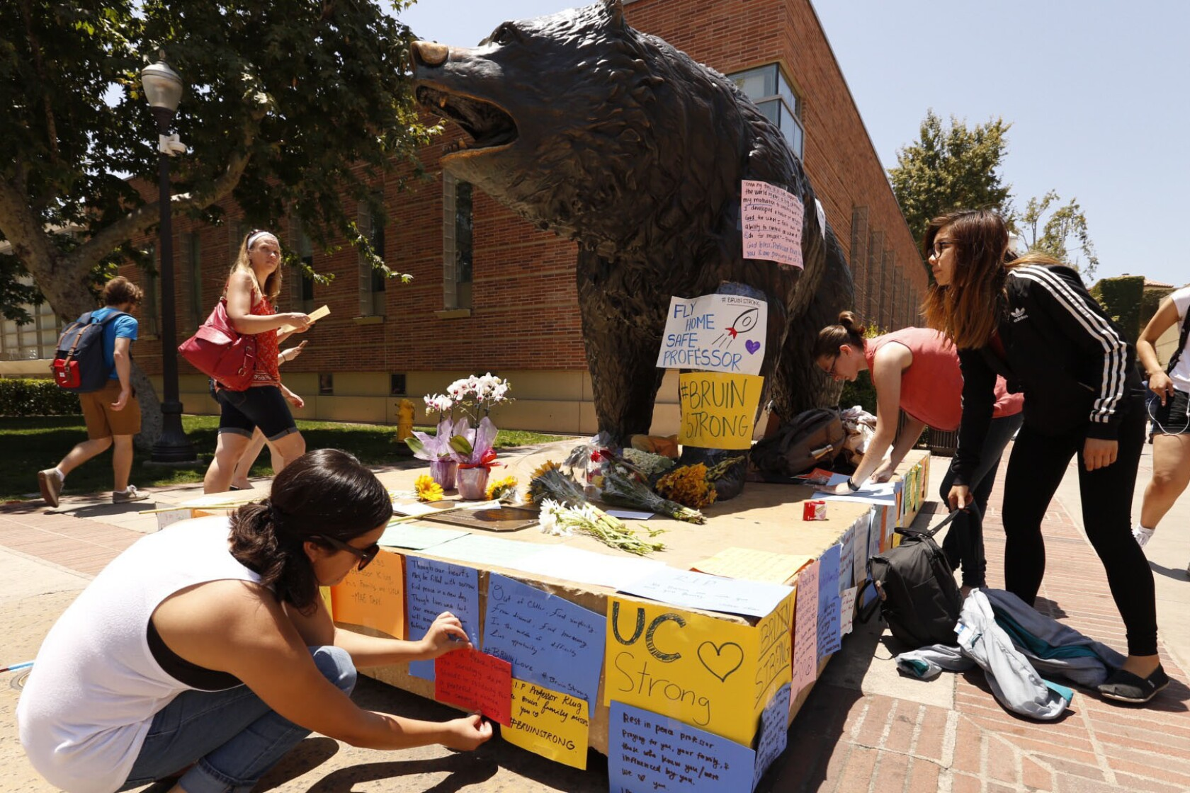 Professor killed in UCLA murder-suicide was brilliant, kind