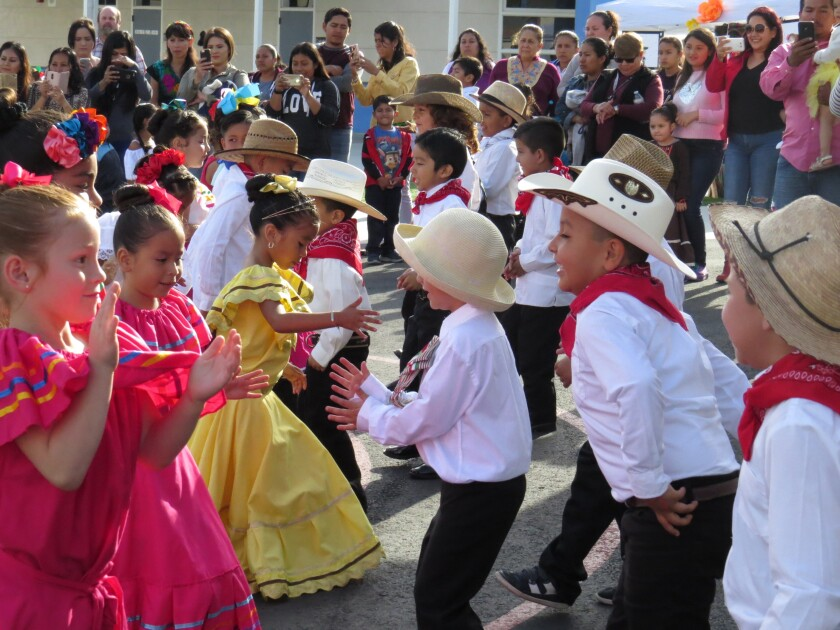 Pioneer Elementary School in Escondido recently celebrated its Spring Festival.