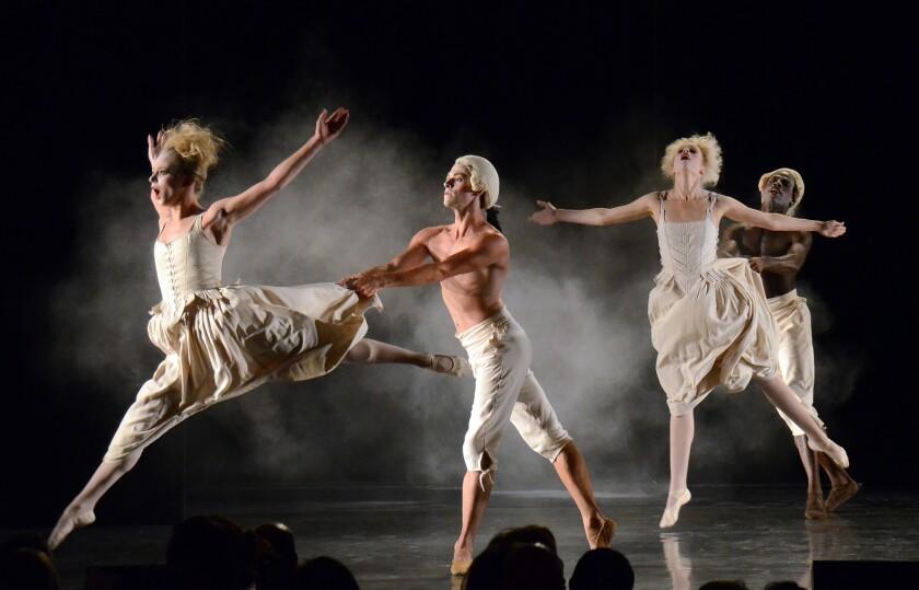 Los Angeles Ballet Dancers